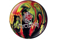 EBONITE CYCLONE BLACK RED YELLOW