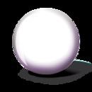 WHITE BALL BRUNSWICK