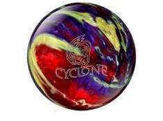 EBONITE CYCLONE RED PURPLE YELLOW