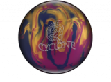 BOWLINGOVA KOULE EBONITE CYCLONE VIOLET GOLD BLUE