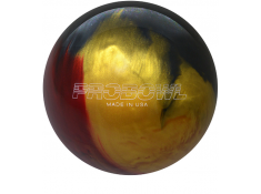 BOWLINGOVA KOULE EBONITE RUBY GOLD GRAY