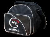 Zvětšit fotografii - BOWLINGOVA TAŠKA NA 1 BALL 900 GLOBAL ČERNA STŘIBRNA