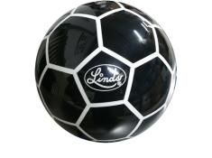 KR STRIKE FORCE LINDS SOCCER BALL BLACK WHITE
