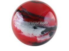 PRO BOWL BALL RED BLACK SILVER PRO BOWL
