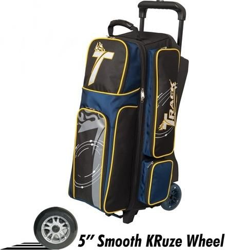 TRACK 3 BALL ROL PREMIUM černá- modrá - žlutá